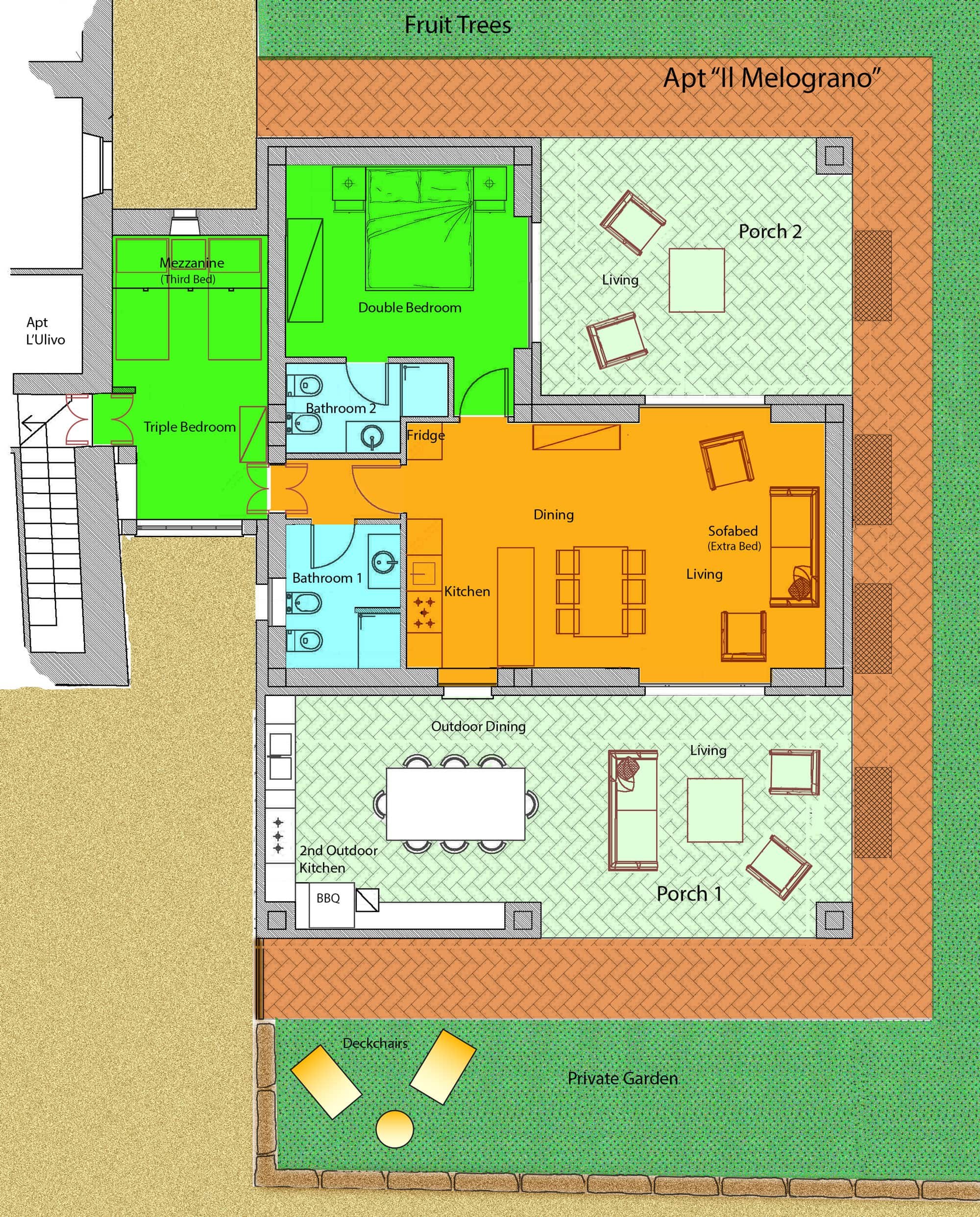 Layout apt 4 Il Melograno